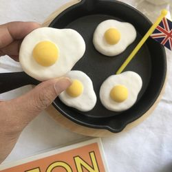계란후라이 차량용 석고방향제