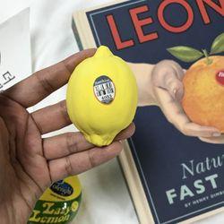 예쁜 레몬 차량용 석고방향제