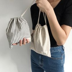 Natural String Pouch