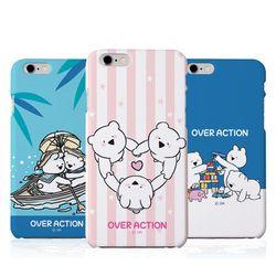 오버액션 꼬마토끼와곰 하드 케이스(B).아이폰5S(SE)