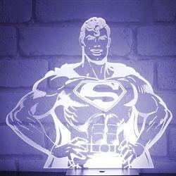 [영국 팔라돈정품] DC코믹스 슈퍼맨 히어로 무드등