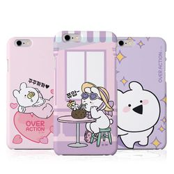 오버액션 꼬마토끼 하드 케이스(B).아이폰5S(SE)