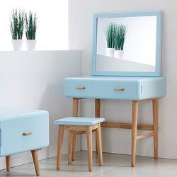NEW레이스토리지 화장대+거울 (블루)