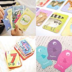 여행용휴대용 유아어린이가족 카드 보드게임