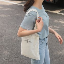 mini slowstitch white bag