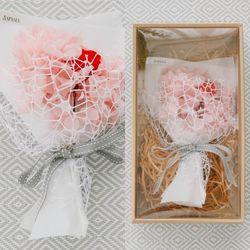 이터니티 로즈 로맨틱 꽃다발 박스-프리저브드