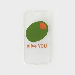 투명케이스 올리브유 (아이폰5)
