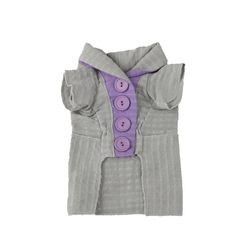 Melody Robe Cardigan Dim Gray