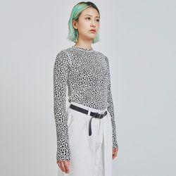 leopard slim T (2 color)