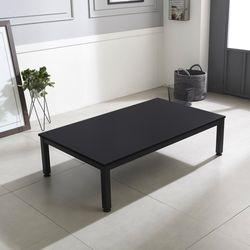 자이 책상겸테이블좌식 블랙 1500x800
