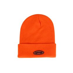 [BPBCLUB] JELLY LOGO BEANIE (ORANGE)