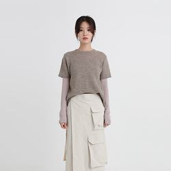 warm wool half knit (4colors)