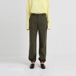 cotton cargo jogger pants (2colors)