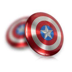 [마블정품] 마블 캡틴 아메리카 쉴드 보조 배터리 6800mAh