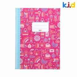 패턴공책(핑크)