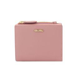 소프트 라떼 핑크 가로형 반지갑 CLAB18902SPL