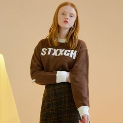 STXXCH KNIT (BROWN)