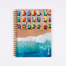 만년형 학기플래너 여름해변
