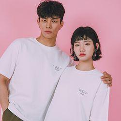 오버핏 티셔츠 Overfit T-Shirts  -YS103WH White
