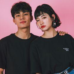 오버핏 티셔츠 Overfit T-Shirts  -YS103BK Black
