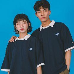 오버핏 카라티 Overfit Rugby T-Shirts  -YS104NY Navy