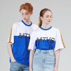 MTVS LINE TEE BLUE