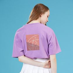 BACK COURT TEE PURPLE