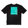 BACK COURT TEE BLACK