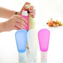 여행용 실리콘 리필용기 화장품 삼푸통