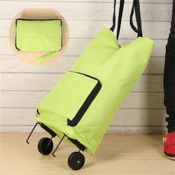 휴대용 접이식 장바구니 캐리어쇼핑카트