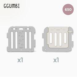 [꿈비] 베이비룸 베이직가드 1p(650)+세이프도어 1p(755)