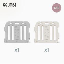 [꿈비] 베이비룸 650 베이직가드 2p (65x60cm)