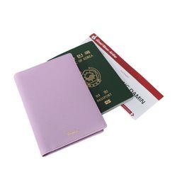 렌토 여권지갑 케이스 라벤더