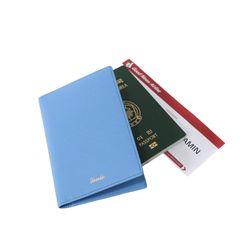 렌토 여권지갑 케이스 스카이