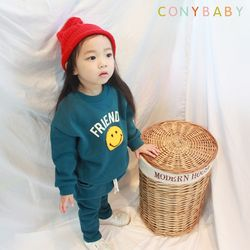 [CONY]프렌즈스마일 기모맨투맨 상하복세트
