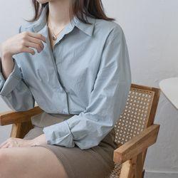 파스텔 코튼 셔츠 (4-COLORS)