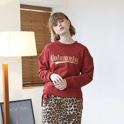 Columnist Sweatshirt - Burgundy