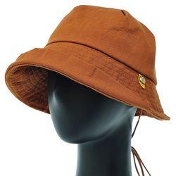 [더그레이]EKU18.워싱면 끈장식 여성 벙거지 모자