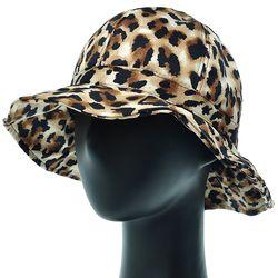 [더그레이]EKU13.레오파드 여성 벙거지 모자 버킷햇