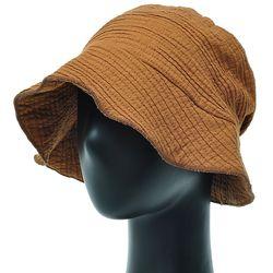 [더그레이]EKU11.링클 스티치 여성 벙거지 모자