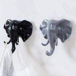 접착식 코끼리 후크걸이
