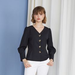 Charlotte Blouse - Black