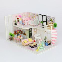 [adico]DIY 미니어처 하우스 - 안나의 핑크멜로디