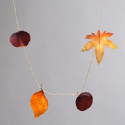 가을 낙엽 가랜드