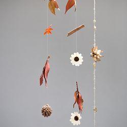 가을 장식 모빌