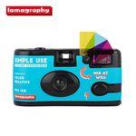 로모그래피 심플유즈 카메라(다회용 카메라) - 컬러(블루)