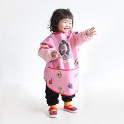 코코 포토 긴팔 미술가운 (후르츠빠빠)