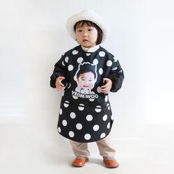 코코 포토 긴팔 미술가운 (헬로우)