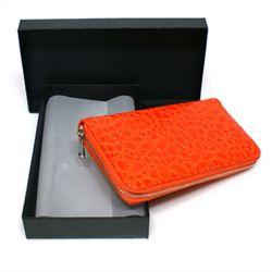 에나멜 지퍼 장지갑