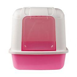 산시아 졸리 후드형 화장실(핑크)